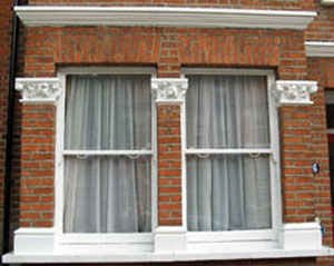 Typical bay window